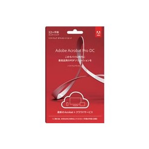 Adobe/Acrobat Pro 日本語 SUBS1年 LiveCard/65294751|jetprice