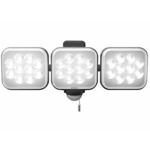 ムサシ/3灯フリーアーム式LEDセンサーライト/LED-AC3042|jetprice