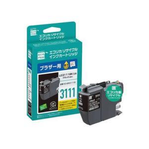 エコリカ/ブラザー用リサイクルインクカートリッジ ブラック/ECI-BR3111B|jetprice