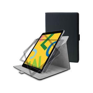 エレコム/iPad 10.2 2019 ソフトレザーケース 360度/TB-A19R360BK