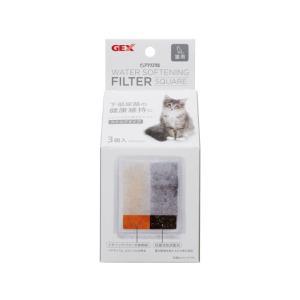 ジェックス/ピュアクリスタル 軟水化フィルタースクエアタイプ 猫用3P/57456 jetprice