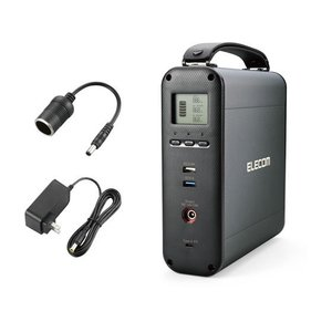 エレコム/コンパクトポータブルバッテリー/DE-AC05-60900BK|jetprice