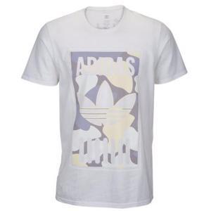 アディダス オリジナルス メンズ グラフィック Tシャツ ホワイト カモ adidas Orignals Men's Graphoc T-shirt White/Camo jetrag