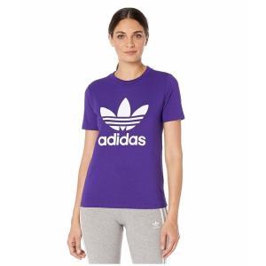 (取寄)アディダス オリジナルス レディース トレフォイルTシャツ adidas originals Women Trefoil Tee Collegiate Purple|jetrag