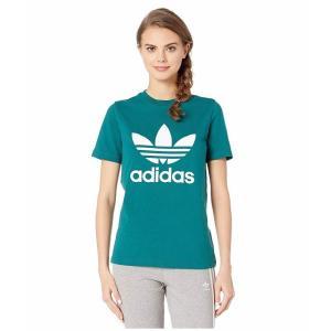 (取寄)アディダス オリジナルス レディース トレフォイルTシャツ adidas originals Women Trefoil Tee Noble Green|jetrag