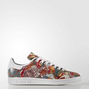(取寄)アディダス オリジナルス レディース スタン スミス シューズ adidas originals Women Stan Smith Shoes Running White Ftw / Running White Ftw / Of jetrag