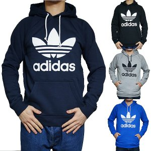 アディダス パーカー オリジナルス メンズ スウェットパーカー トレフォイル フーディ adidas Originals Men's Trefoil Logo Hoodie...