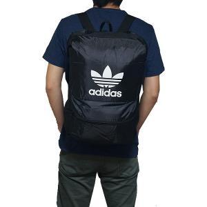 アディダス オリジナルス リュック パッカブル バックパック 黒 ブラック adidas originals Men's Packable Backpack Black|jetrag