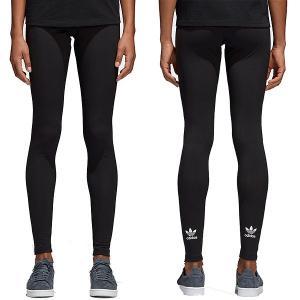 アディダス オリジナルス レギンス レディース アディカラー トレフォイル レギンス adidas Originals Womens Adicolor Trefoil Leggings Black|jetrag