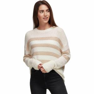 (取寄)レイルズ レディース サターン セーター Rails Women Saturn Sweater Ivory/Jute Stripe|jetrag
