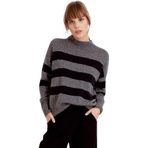 (取寄)レイルズ レディース エリーゼ セーター Rails Women Ellise Sweater Charcoal Midnight Stripe|jetrag
