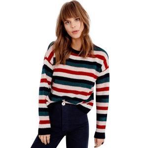 (取寄)レイルズ レディース アデラ セーター Rails Women Adela Sweater Navy Rainbow Multi|jetrag