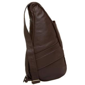 アメリバッグ クラシックレザー ヘルシーバックバッグ XSサイズ エスプレッソ AmeriBag Classic Leather Healthy|jetrag
