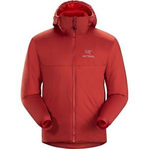 (取寄)アークテリクス メンズ アトム AR フーデッド インサレーテッド ジャケット Arc'teryx Men's Atom AR Hooded Insulated Jacket Infrared|jetrag