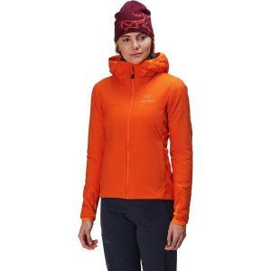 (取寄)アークテリクス レディース アトム LT フーデッド インサレーテッド ジャケット Arc'teryx Women Atom LT Hooded Insulated Jacket Beacon|jetrag