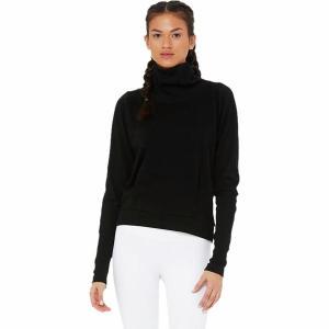 (取寄)アローヨガ レディース クラリティ ロングスリーブ トレーナー ALO YOGA Women Clarity Long-Sleeve Sweatshirt Black|jetrag