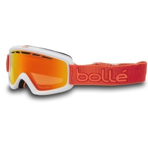 (取寄)ボレー ノヴァ 2 スキー ゴーグル Bolle Men's Nova II Ski Goggles Matte White Orange/Fire Orange|jetrag