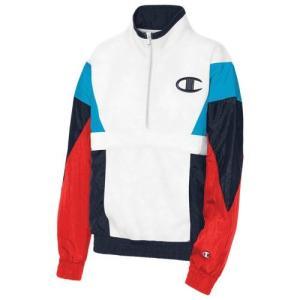 (取寄)チャンピオン レディース ミックス メディア プルオーバー ジャケット Champion Women's Mixed Media Pullover Jacket Hero Multi|jetrag
