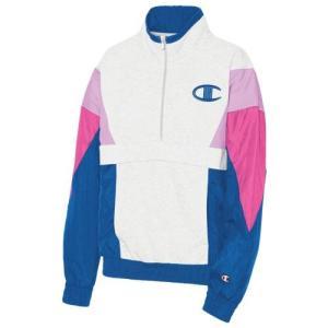 (取寄)チャンピオン レディース ミックス メディア プルオーバー ジャケット Champion Women's Mixed Media Pullover Jacket Velvet Evening|jetrag