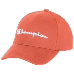 (取寄)チャンピオン メンズ クラシック ツイル スクリプト ハット - アダルト Champion Adult Classic Twill Script Hat - Adult Groovy Papaya|jetrag