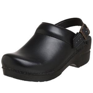 ダンスコ レディース イングリッド ボックス レザー クロッグ ブラック dansko Ingrid Box Leather Clog Black|jetrag
