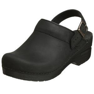 (取寄)ダンスコ レディース イングリッド オイルド レザー クロッグ ブラック dansko Ingrid Oiled Leather Clog Black|jetrag