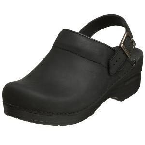 ダンスコ レディース イングリッド オイルド レザー クロッグ ブラック dansko Ingrid Oiled Leather Clog Black (サボ サンダル コンフォートシューズ 靴)|jetrag