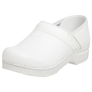 ダンスコ プロフェッショナル レディース ボックスレザー クロッグ ホワイト dansko Professional Box Leather Clog White|jetrag