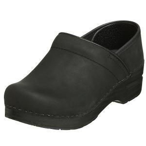 ダンスコ レディース プロフェッショナル オイルド レザー クロッグ ブラック dansko Professional Oiled Leather Clog Black