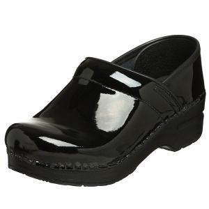 (取寄)ダンスコ レディース プロフェッショナル パテント レザー クロッグ ブラック dansko Professional Patent Leather Clog Black|jetrag