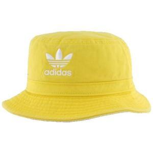 (取寄)アディダスオリジナルス ウォッシュド バケット ハット adidas Originals Washed Bucket Hat Yellow White|jetrag