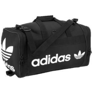 アディダスオリジナルス ダッフルバッグ サンティアゴ 2 ダッフル 肩掛け ショルダー 黒 ブラック adidas Originals Santiago II Duffel Black White|jetrag