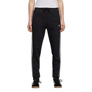 (取寄)アディダス レディース オリジナルス アディカラー カフド トラック パンツWomen's adidas Originals Adicolor Cuffed Track Pants Black White|jetrag