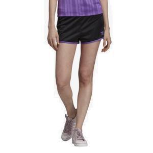 (取寄)アディダス レディース オリジナルス 3ストライプ ショーツWomen's adidas Originals 3-Stripe Shorts Black Purple|jetrag