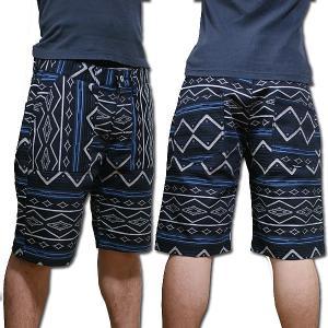 earthly chord Denim Rag Pants Boot Cut #EC0222 アースリーコード ブルーチェック デニム ラグショーツ パンツ jetrag