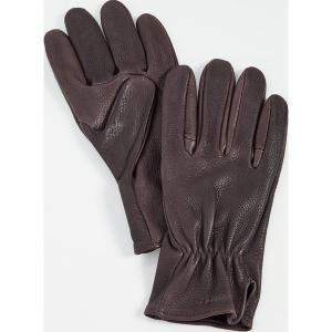 (取寄)フィルソン オリジナル ディア グローブ FILSON Original Deer Gloves Brown|jetrag