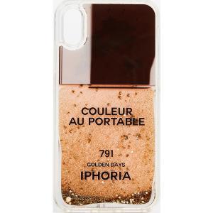 (取寄)アイフォリア ネイル ポリッシュ アイフォン X ケース Iphoria Nail Polish iPhone X Case GoldLight|jetrag
