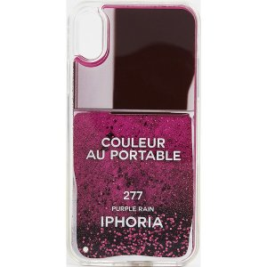 (取寄)アイフォリア ネイル ポリッシュ アイフォン X ケース Iphoria Nail Polish iPhone X Case Purple|jetrag