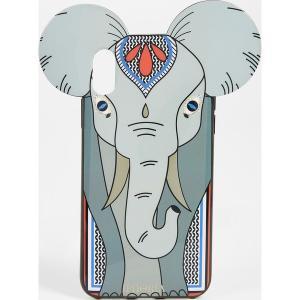 (取寄)アイフォリア グレイ エレファント アイフォン X ケース Iphoria Grey Elephant iPhone X Case ElephantGrey|jetrag