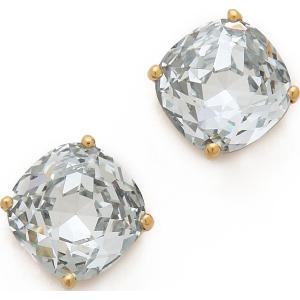 (取寄)Kate Spade New York Small Square Stud Earrings ケイトスペード スモール スクエア スタッズ ピアス Clear jetrag