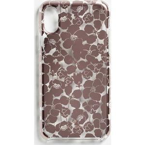 ケイトスペード フロレット クリア アイフォン XS / X ケース Kate Spade New York Floret Clear iPhone XS / X Case ClearMulti jetrag