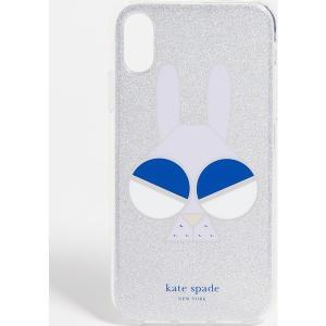 (取寄)ケイトスペード グリッター マネー バニー アイフォン XR ケース Kate Spade New York Glitter Money Bunny iPhoneXR Case SilverMulti jetrag