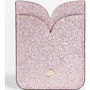 ケイトスペード グリッター ダブル ステッカー ポケット Kate Spade New York Glitter Double Sticker Pocket RoseGold jetrag