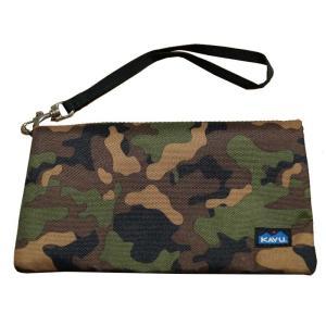 カブー 財布 クラッチバッグ Kavu Clutch-N-Go Camo|jetrag