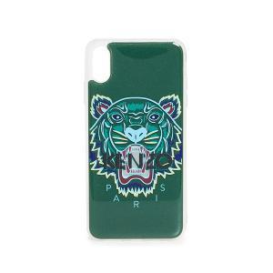 ケンゾー iPhoneケース 3D タイガー ヘッド アイフォン XS マックス ケース KENZO 3D Tiger Head iPhone XS Max Case Green jetrag