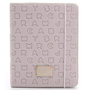 Marc by Marc Jacobs マークバイマークジェイコブス Dreamy Logo Neoprene Tablet Book ドリーミーロゴ ネオプレーン タブレット ブック Pale Mink jetrag