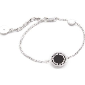 マークジェイコブス ブレスレット レディース シルバー エナメル ロゴ ディスク  Marc Jacobs Enamel Logo Disc Bracelet 【レディース アクセサリー】 jetrag