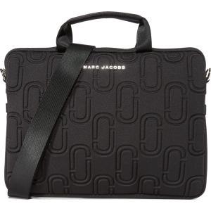 (取寄)マークジェイコブス PCバッグ 13インチ ブラック ダブル J ネオプレーン 13インチ コミューター ケース Marc Jacobs Double J Neoprene 13