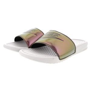 ナイキ サンダル  ベナッシ JDI スライド Nike Women's Benassi JDI Slide Light Bone Medium Olive あす楽対応|jetrag