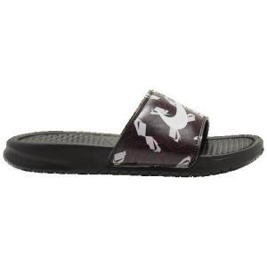 (取寄)ナイキ レディース ベナッシ JDI スライド Nike Women's Benassi JDI Slide Black Spruce Aura Iced Lilac|jetrag